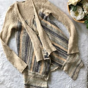 Free People Toggle Knit Cardigan